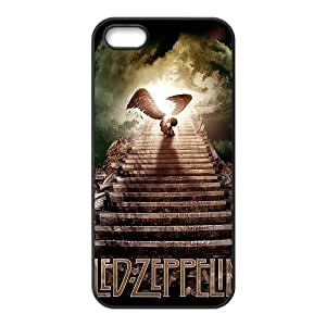 Fashion Led Zeppelin Personalized iPhone 5 5S PC Silicone Case Cover