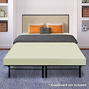 best price mattress 8 inch tight top icoil spring mattress and metal platform bed. Black Bedroom Furniture Sets. Home Design Ideas