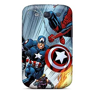 Shock Absorbent Cell-phone Hard Cover For Samsung Galaxy S3 (idF19879RteS) Provide Private Custom Beautiful Ant Man Image