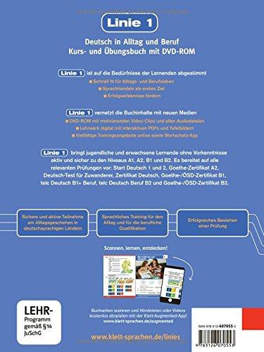 linie 1 a1 deutsch in alltag und beruf kurs und Übungsbuch mit