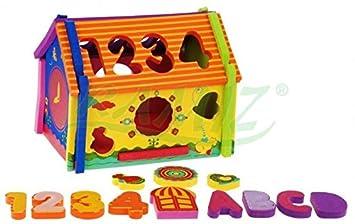Infantiles Juegos 3d esJuguetes De Y EncajablesAmazon Puzzle Bloques zUMGSVpq