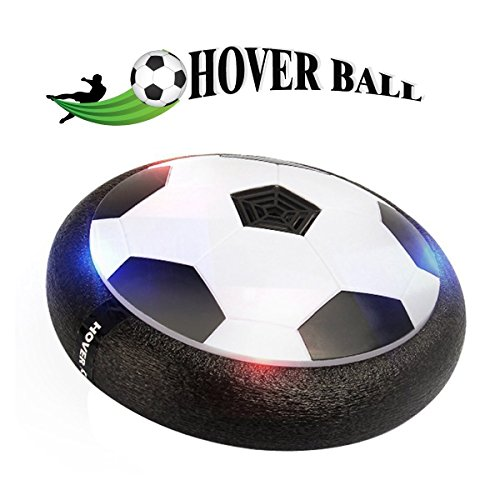 Soccer Ball Air - POKONBOY Kids Toy Soccer Products LED Air Power Soccer Disk Indoor Outdoor Hover Ball for Training Football