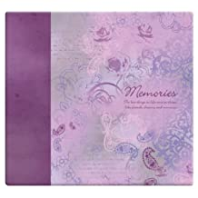 MCS MBI by 848127 Expressions Collection 13.2 by 12.5-Inch Scrapbook with 12 by 12-Inch Top Loading Page, Memories