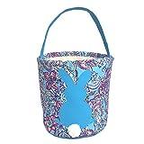 MONOBLANKS Kids Easter Egg Hunt Basket Party Candy Bag Fancy Blue Deal (Small Image)