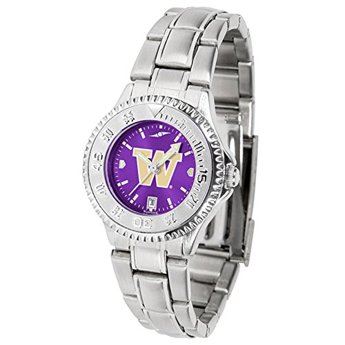 Linkswalker Washington Huskies Ladies' Competitor Steel Anochrome Watch