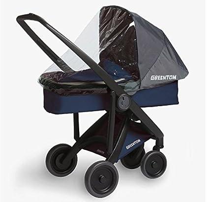 Protection pluie pour siège REVERSIBLE et nacelle CARRYCOT GREENTOM