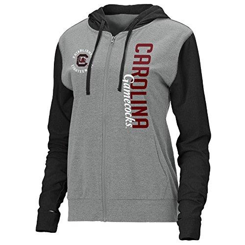 Carolina Womens Hoody Zip Sweatshirt - 5