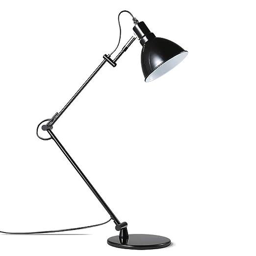 5W LED de la lámpara de escritorio del brazo del oscilación ...