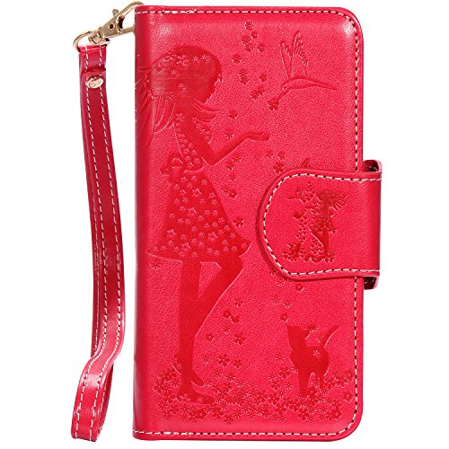 coque iphone 7 portefeuille fille