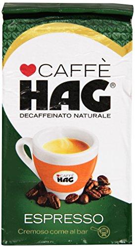 Hag - Koffeinfreier natürlicher Espress Kaffee - 250 g