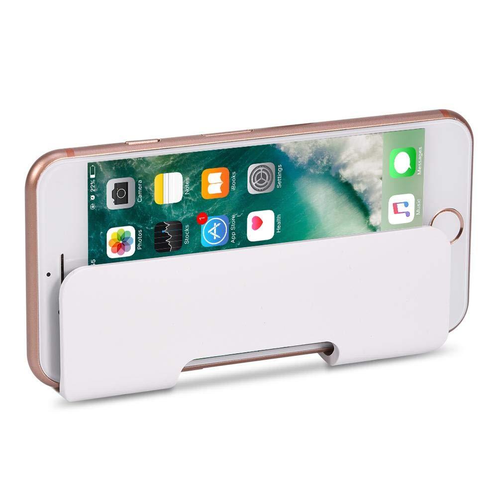 Tangxi Soporte de Carga Universal para tel/éfono Soporte para tel/éfono de Montaje en Pared con Cinta Adhesiva para Tableta de tel/éfono m/óvil