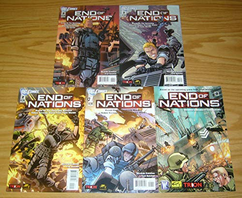 End of Nations #0 + 1-4 VF/NM complete comic book series based on the MMO RTS game ; - Best Game Rts