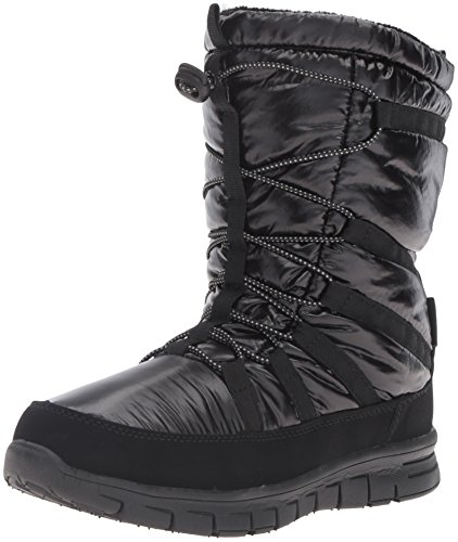 - Khombu Women's Altam Waterproof Cold Weather Boot, Black, 7 M US