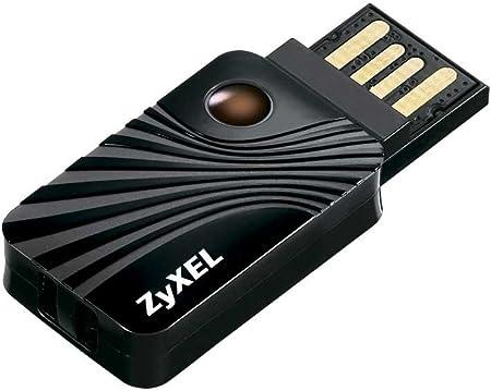Adaptador USB inal/ámbrico de doble banda Zyxel AC1200 NWD6605