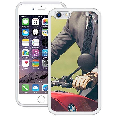BMW Motorrad | Handgefertigt | iPhone 6 6s (4,7') | Weiß Hülle