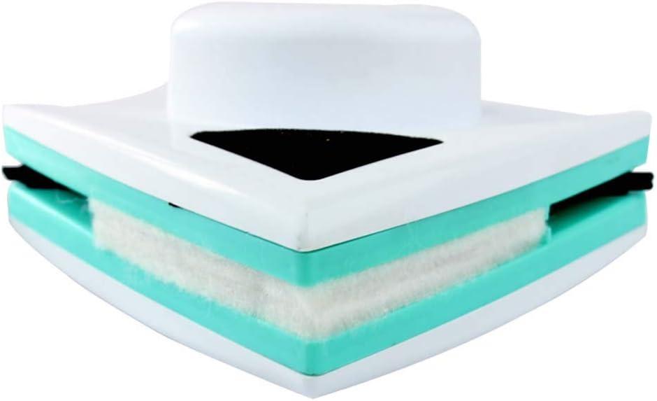 XXZG Limpiacristales Magnético, Limpiador De Ventanas Magnético Ajustable, Se Adapta a Ventanas 5-12 mm Grosor (Blanco/Una Sola Capa): Amazon.es: Hogar