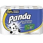 Panda Ultra Premium Toilet Paper, White, 48 Rolls