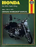 HAYNES 1975-1979 HONDA GL 1000 GOLD WING OWNERS SERVICE MANUAL (309) (920)