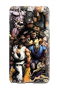 Galaxy Note 3 Case Cover Skin : Premium High Quality Street Fighter Case