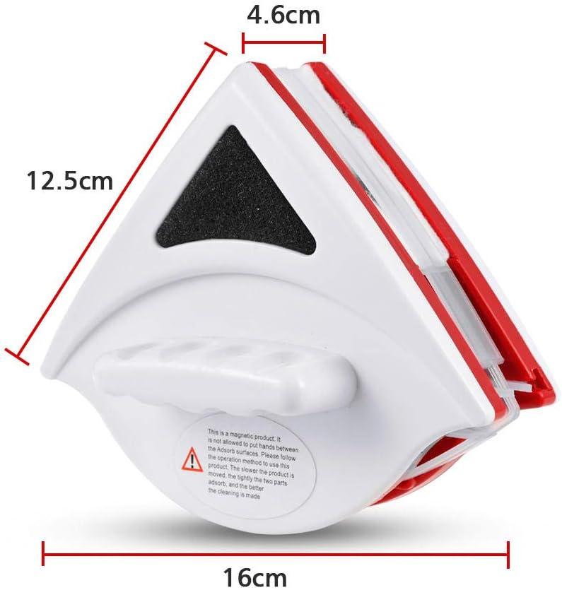 Nettoyant magnétique pour vitres double face Aimant nettoyant pour vitres Nettoyant pour vitres Nettoyage des vitres-15 mm-24 mm 5 Mm À 12 Mm