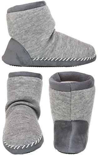 Women's Heather Boot amp; Isotoner Marisol Knit Grey Heather Microsuede fAqvTwxz