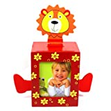 Lion Bank with Picture Frame