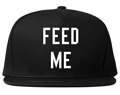 FASHIONISGREAT Feed Me Hungry Womens Snapback Hat - Snapback Feed Me