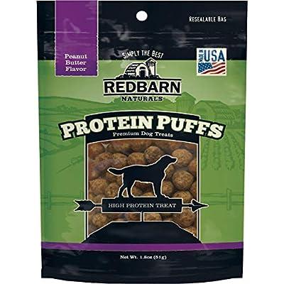 Redbarn Pet Products 255035 Protein Puffs Dog Pub Dry-Pet-Food, 1.8 Oz