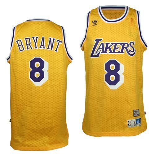 79d91ef478aa ... Amazon.com Kobe Bryant Los Angeles Lakers Hardwood Classics 8 Swingman  Jersey (Gold) ...
