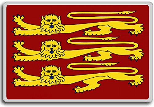 British Standard Flag - Royal Banner Of King Richard I, British Obsolete Royal Standards Flag fridge magnet