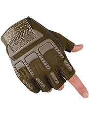 قفازات معصم رياضية للجنسين تغطية لنصف الاصابع