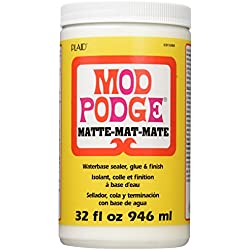 Mod Podge Waterbase Sealer, Glue and Finish (32-Ounce), CS11303 Matte Finish