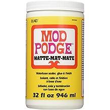 Mod Podge Waterbase Sealer, Glue and Finish (32-Ounce), CS11303 Matte Finish