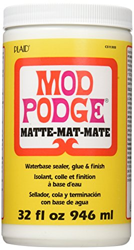 Mod Podge CS11303 Waterbase Sealer, Glue and Finish,Matte,32 Ounce]()