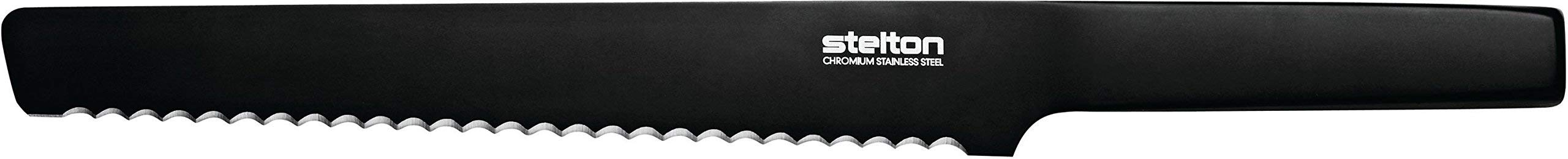 Stelton Pure Black Bread Knife