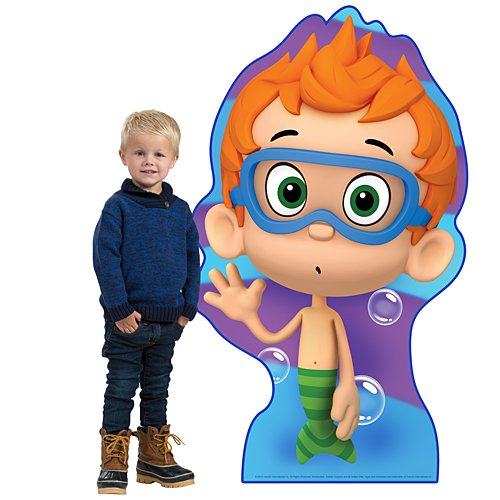 4 ft. 9 in. Bubble Guppies Nonny Standee Standup Photo Booth Prop Background Backdrop Party Decoration Decor Scene Setter Cardboard Cutout -