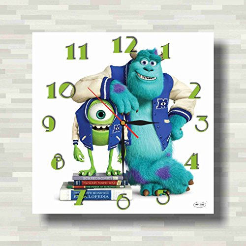 Monster University Boo Costume (Monsters Inc 11'' Handmade MAGIC WALL CLOCK FOR DISNEY FANS made of acrylic glass - Get unique décor for home or office – Best gift ideas for kids, friends, parents and your soul mates)