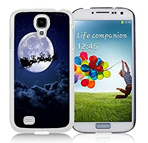 Popular Sell Samsung S4 TPU Protective Skin Cover Merry Christmas White Samsung Galaxy S4 i9500 Case 30