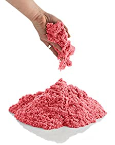 CoolSand 2 lb. Refill Package - Kinetic Play Sand For All Ages - (Red)