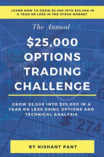51gWna5xo8L - $25,000 Options Trading Challenge: Grow $2,500 into $25,000 in a year in the Stock Market using Options Trading and Technical Analysis