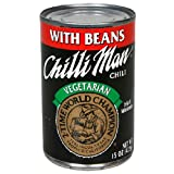 Chilli Man Chili, Vegetarian with Beans, 15 Ounce (Pack of 12)