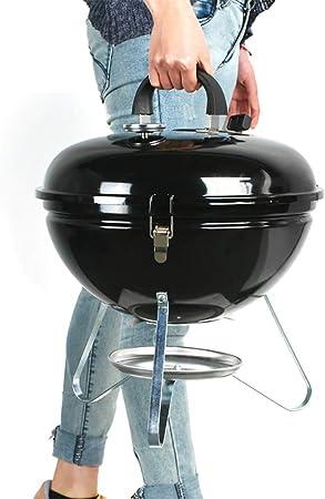 FYLD Barbecue Charbon de Bois Barbecue Américain émaillé