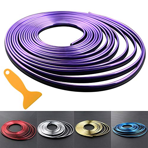 purple accessories for car - 3