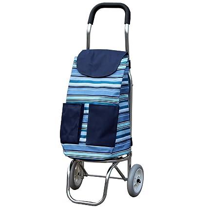 83300fb23340 Amazon.com: Tengxiang Shopping cart Aluminum Alloy Portable Folding ...