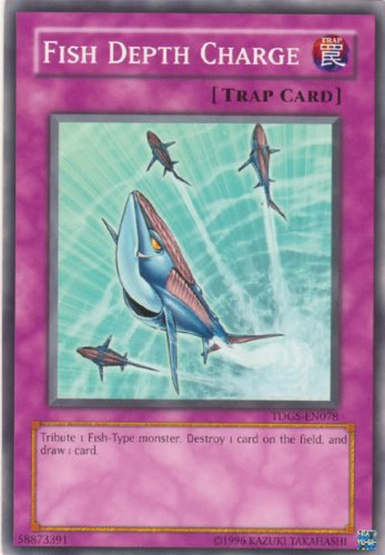 Yu-Gi-Oh! - Fish Depth Charge (TDGS-EN078) - The Duelist Genesis - Unlimited Edition - Common