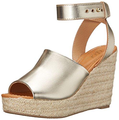 Wild Pair Women's Bolinas Wedge Sandal Gold
