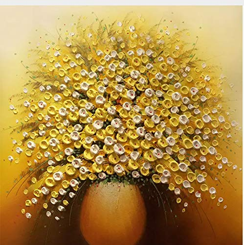 Lifme Customize Any Size Golden Luxury Vase Oil Painting Vase Luxury 3D Mural Living Room Sofa Background Wall Painting Decorative Wallpaper Roll-400X280Cm 400X280CM B07H6JGPPB 431fe6