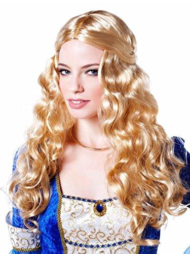 Renaissance Goddess Adult Size Costumes (Goddessey Blonde Renaissance Goddess Wig, Adult Standard)