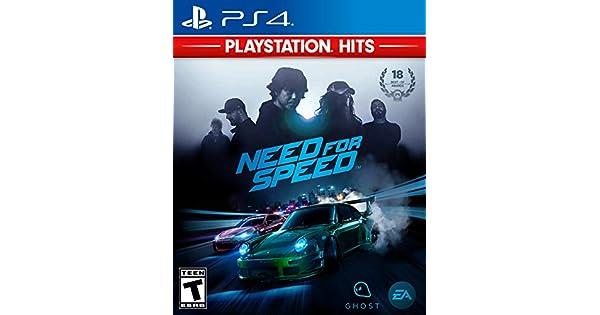 Electronic Arts Need For Speed PS4 - Juego (PlayStation 4, Racing, Ghost Games, RP (Clasificación pendiente), ENG, ENG, Básico): Amazon.es: Videojuegos