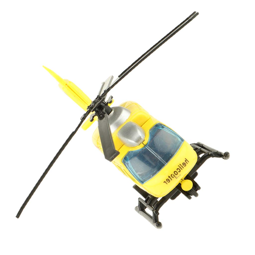 as described Blue SM SunniMix 1:43 Scale Diecast Helicopter Model Toy Pull Back Toy For Kids Boys